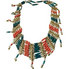 Fabulous Egyptian faience beads Necklace