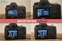 Back Button Focus Explained, by Betsy Davis and Cole's Classroom