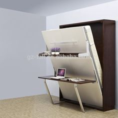 Queen Size Murphy Wall Bed Removeable Murphy Bed With Study Table - Buy Wall Bed With Desk,Murphy Wall Bed,Folding Wall Bed Product on Alibaba.com