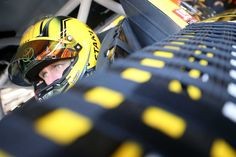 At-track photos, Friday at Kansas:   Saturday, May 7, 2016  -   Carl Edwards, driver of the No. 19 Stanley Toyota, sits in his car during practice for the NASCAR Sprint Cup Series GoBowling 400 at Kansas Speedway on May 6, 2016 in Kansas City, Kansas.  -   Photo Credit: Sean Gardner/NASCAR via Getty Images