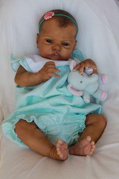 Reborn life like baby doll www.newbornlovenursery.blogspot.com Sarah Daugherty