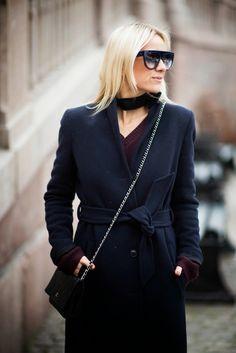 Style....Celine Aagaard // HIPPIE, HIPPIE - MILKSHAKE // WHAT I WEAR TODAY - NAVY + BURGUNDY