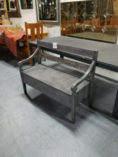 Bench with trunk $169