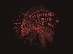 Resistance Amerikana by Jonathan Schubert