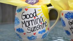 Good Morning Sunshine - PaintedbyMe DIY Mugs
