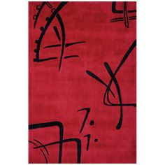 Momeni Rug Hand Tufted Red KOI00KO-06RED