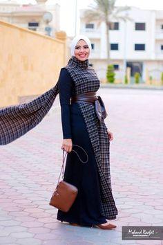 Maram snosy Egyptian hijab designs – Just Trendy Girls Abaya Fashion, Muslim Fashion, Modest Fashion, Fashion Dresses, Egyptian Fashion, Hijab Dress Party, Modele Hijab, Muslim Dress, Fashion Photo
