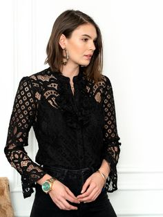 Must Haves, Camisole, Bell Sleeves, Blouse, Lace, How To Make, Shirts, Color, Tops