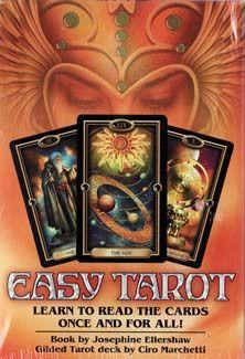 Easy Tarot Deck & Book by Ellershaw & Marchetti*