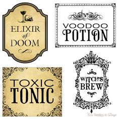 Papercraft Apothecary Jar Labels, Tags & Ideas - Page 5