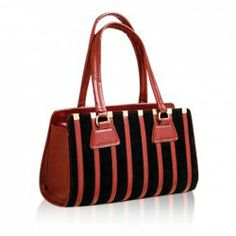 $13.31 Stylish Style Casual Women's Shoulder Bag With Stripe and Metal Design