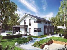 Fertighaus mit Satteldach - Musterhaus Sunshine 143 Mülheim-Kärlich - Living Haus - Weitere Ansichten inkl. Grundrisse auf Musterhaus.net