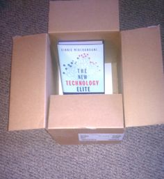"""Last hardback in the """"friends and family"""" box sent by publisher - March 25"""