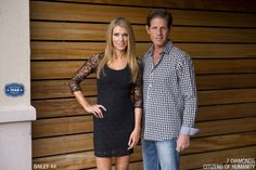 She's wearing a sexy Bailey 44 lace dress. He's wearing a 7 Diamonds shirt with Citizens of Humanity mens jeans. #scottsdalejeanco #sjc #winterfashion #bailey44 #7diamonds #citizensofhumanity