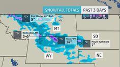 Summer Snow: Record-Early Snowfall Hits Rapid City, South Dakota; Boulder, Colorado; North Platte, Nebraska | The Weather Channel