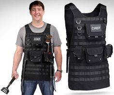 Tactical Apron for when cooking is a battle