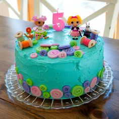 Lalaloopsy Birthday Cake - Pretty easy!