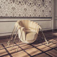 Les Araignées #designbymarcange @dedarmilano fabric Tub Chair, Accent Chairs, Furniture Design, Sculpture, Interior Design, Instagram, House, Collection, Home Decor