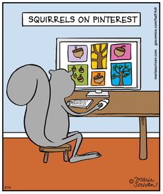 squirrels on Pinterest | Half Full (2014-03-14) via GoComics