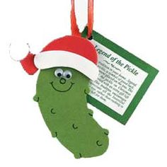 Christmas Pickle Ornaments Made of Glass