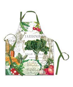 Loving this From My Garden Chef Apron on #zulily! #zulilyfinds