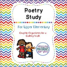 I created this gallery walk graphic organizer packet to help my students engage with a variety of poems while collaborating. This packet can be used for independent work and/or partner work and includes vocabulary, figurative language, identification of sensory images, theme, and more.