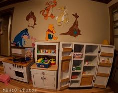 Look at this amazing play kitchen built by Mike B.