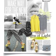 Signs of Light by pribortolon on Polyvore featuring J.A.K., DC Shoes, Trilogy, vintage, liquid leggings, neon, animal print, sweater, grey and shirt