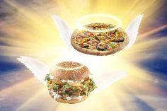 Νηστίσιμες γεύσεις θεϊκής προέλευσης! Veggie Burger και Vegan Πίτσα με ψητά λαχανικά🍔🍕🌱 Funny Moments, Pizza, Ethnic Recipes, Food, Essen, Meals, Yemek, Eten