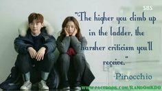 #pinocchio #kdrama #climb ladder