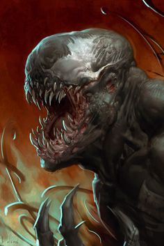 #Venom #Fan #Art. (Venom) By: Ben Olsen. (THE * 5 * STÅR * ÅWARD * OF: * AW YEAH, IT'S MAJOR ÅWESOMENESS!!!™)[THANK Ü 4 PINNING!!!<·><]<©>ÅÅÅ+(OB4E)