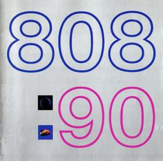 808 State: 90 Great early 90's album - evocative of an era