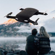 2017 Foldable RC Pocket Quadcopter Drone with Camera Mini Wifi FPV 0.3MP HD Microdrone UAV Pocket Remote Control Toy