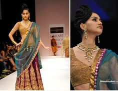 By Shaymal & Bhumika yet another glam combination