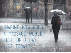Massage can help relax and reduce tension! Especially on a rainy day! http://www.mikevarneyphysio.co.uk/treatments-therapies/massage-therapy/