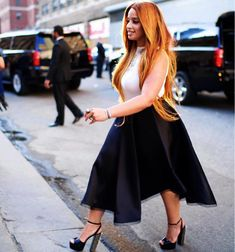 http://www.vivala.com/fashion-trends/dascha-polanco-style-evolution/5982/Much to our delight, Polanco has been all over New York Fashion Week this season./23