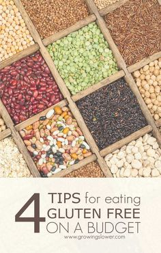 4 Tips for Cooking Gluten Free on a Budget - Save money on groceries without compromising your commitment to eating gluten free. You can do it with these simple tips!