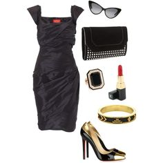 Mad Men Style.,looks almost identical to an outfit worn by Joan on Mad Men!