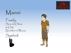 This is Manni from the Viking Clan of the Comic Books (Graphic Novels) 20Vikings.