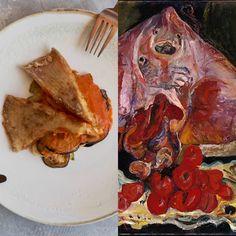Chaïm Soutine y el tumbet de raya – EATING ARTS Ratatouille, Chaim Soutine, Huevos Fritos, Eat, Vegetables, Dishes, Pork Loin, Tomato Sauce
