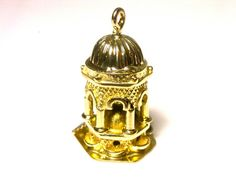 14k Yellow Gold Charm Pendant  Weight 5.5 Grams  by WatchandWares