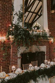 bohemian wedding inspiration - photo by Brandon Scott Photography http://ruffledblog.com/canadian-wedding-with-greenery-galore