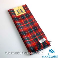 Clan Innes Tartan Scarf