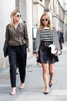 QU'EST-CE QU'ÊTRE BLOGUEUSE MODE EN 2016 ? PUB VS ANALYSE : DEUX STRATÉGIES DE « PERSONAL BRANDING »  LFW SS2015 day 1, London Fashionweek, camille charrière Pernille Teisbaek