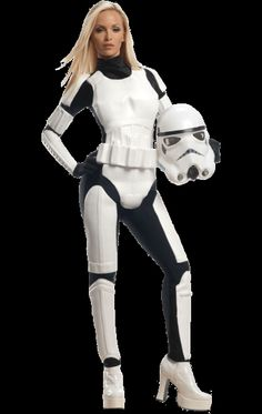 Adult Star Wars Female Stormtrooper Costume | Jokers Masquerade