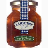 #LUCCINI #MOSTARDA #CREMONESE Mele e Pere | Cremona fruit #mustard, also called #Italian #fruit #mostard, with #apples and #pears. Cremona fruit mustard with the pungency of mustard and the sweet fruity aroma of apples and pears.