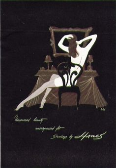 Early seamfree stockings advert, 1940s // Tuppence Ha'penny: A Brief History of Stockings