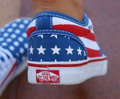 patriotic vans I need these