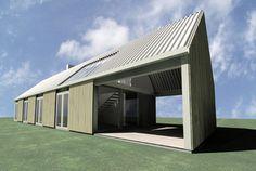 LOVE this!!! modern barn house