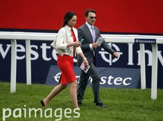 Trainer Aidan O'Brien (right) walks the course on Ladies Day during the 2016 Investec Epsom Derby Festival at Epsom Racecourse, Epsom. Epsom Derby, Sports Pictures, Fashion, Moda, Fashion Styles, Fashion Illustrations